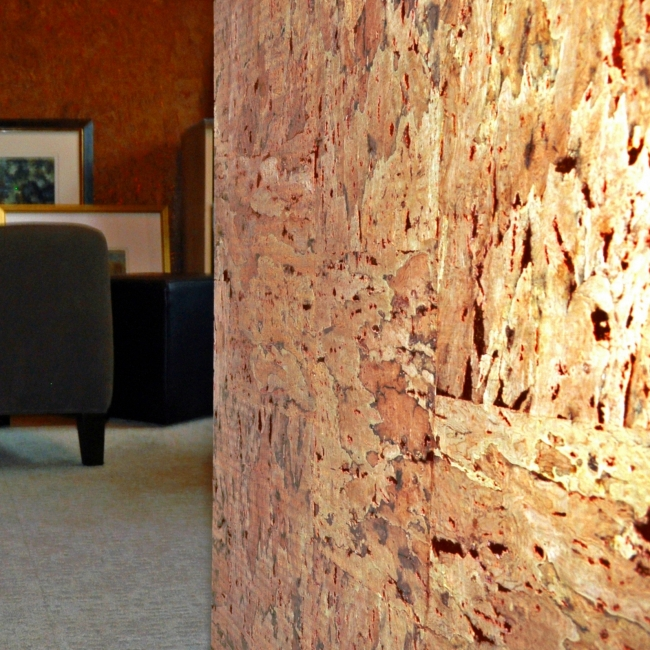 ImaginEco cork wall covering