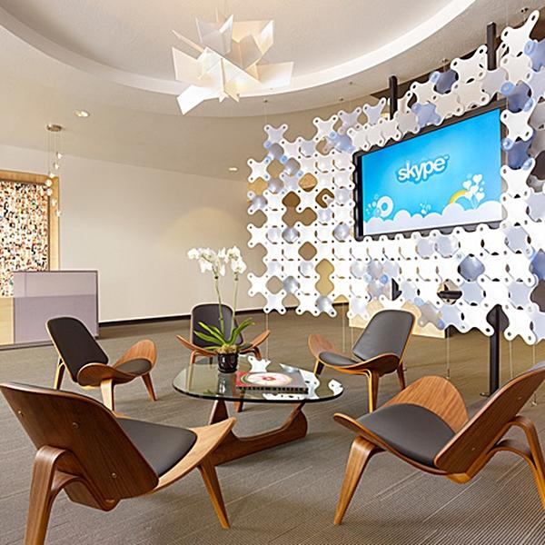 skype office lobby