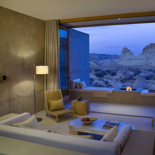 Amangiri resort suite