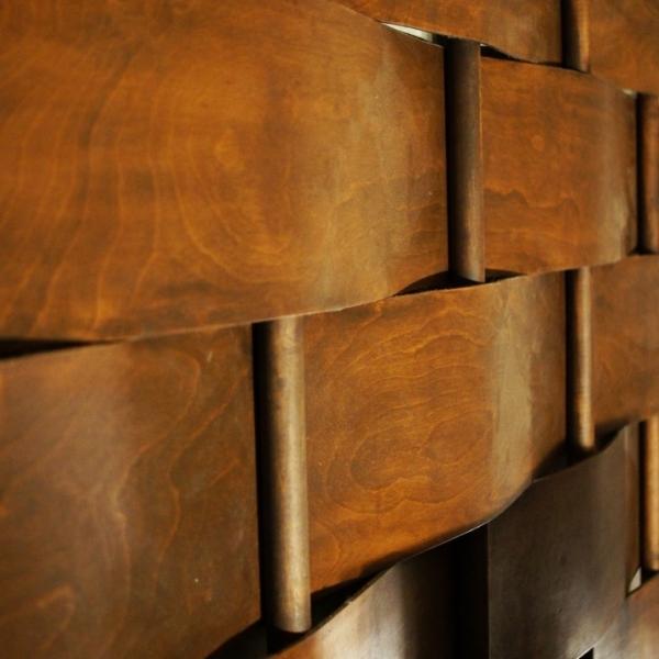 Woven wall diyadventuresdotcom