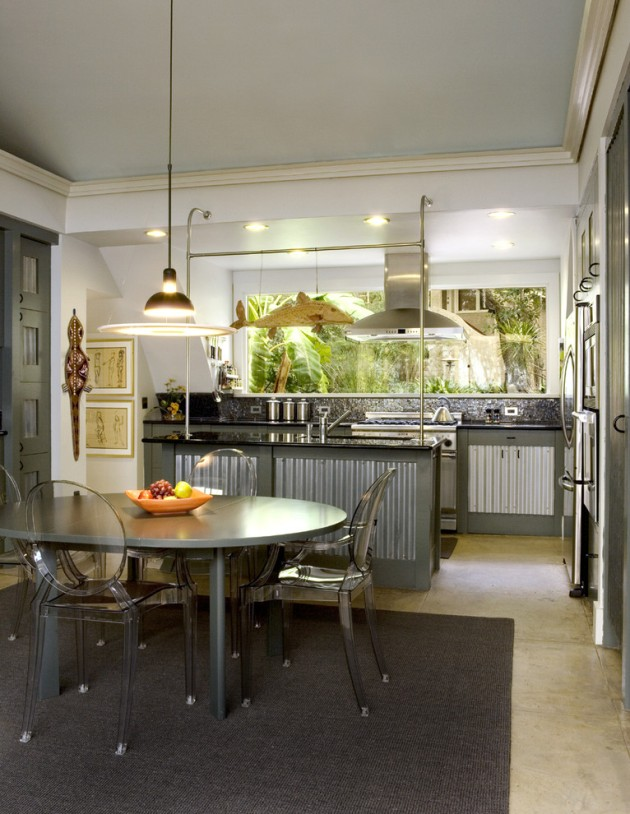 irastar galvanized kitchen